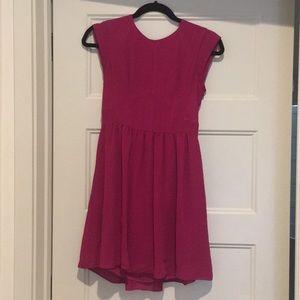 Rebecca Taylor A-like plum dress